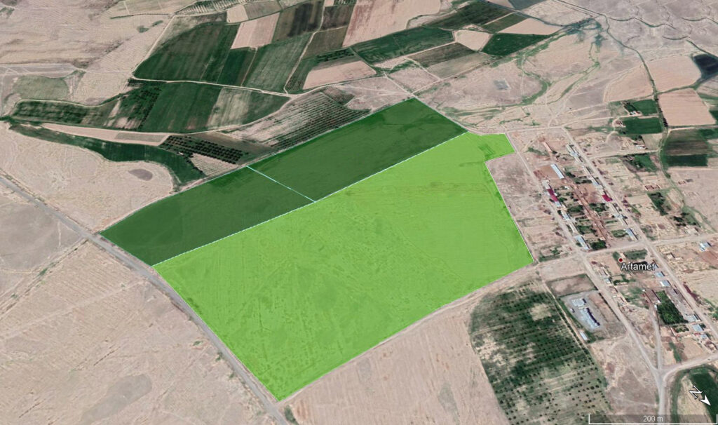 Land suited for Orchard development
