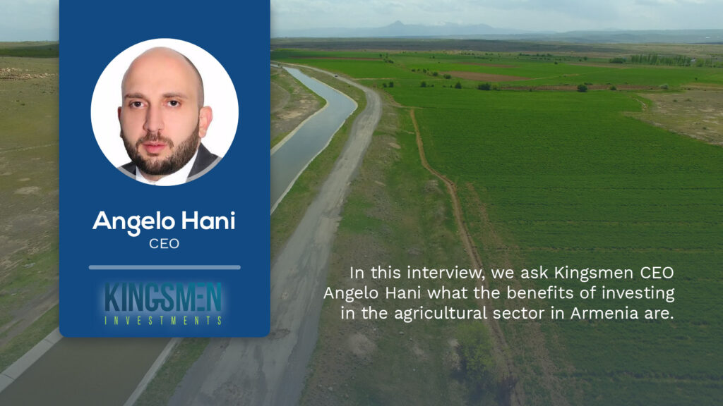 Interview with Angelo Hani: Armenia to be included in the world's walnut map